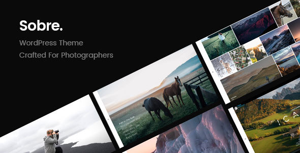 Sobre | Minimal Photography Portfolio WordPress Theme            TFx