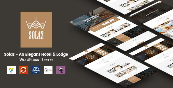 Solaz - An Elegant Hotel & Lodge WordPress Theme            TFx