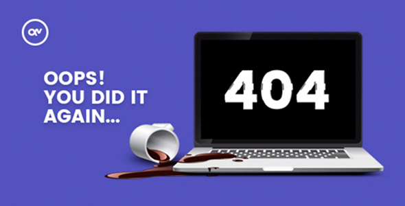 Sosada – creative animated 404 page            TFx