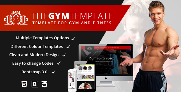 The Gym | Gym & Fitness HTML5 Responsive Multipurpose Templates            TFx