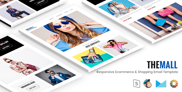 The Mall - Responsive Ecommerce & Shopping Email Template + StampReady Builder            TFx