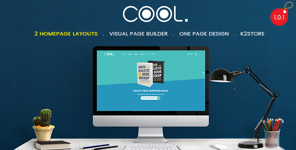 TheCool - Drag and Drop Multipurpose eCommerce Joomla Template            TFx