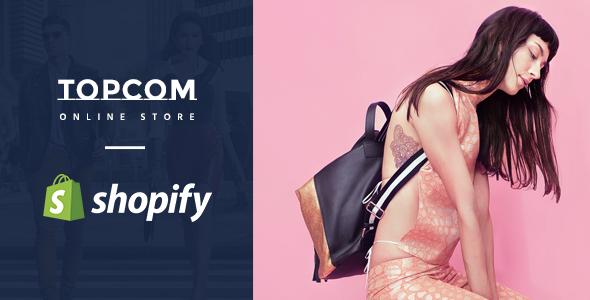 Topcom – Responsive Shopify Theme            TFx