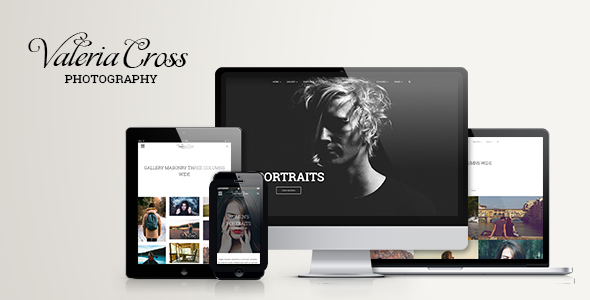 Valeria – Clean Photography & Portfolio WordPress Theme            TFx
