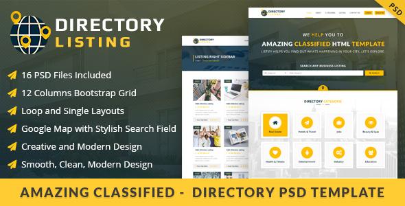 Viavi Directory Listing PSD Template            TFx