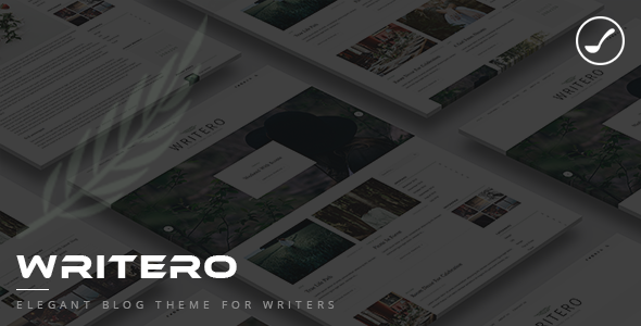 Writero - Elegant WordPress Blog Theme            TFx