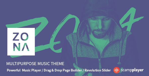 Zona – Multipurpose Music Theme            TFx
