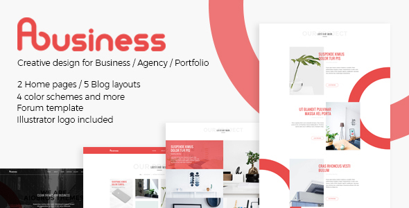 ABusiness PSD Template            TFx