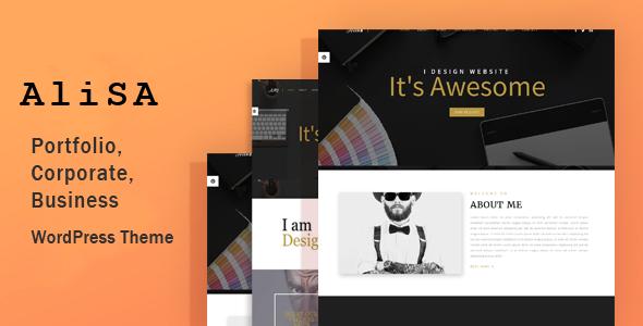 Alisa - Responsive WordPress Theme            TFx