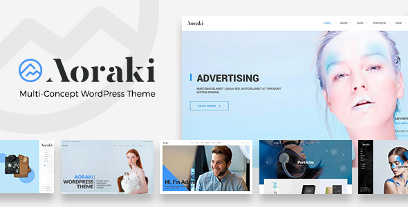 Aoraki - Multi-Concept Business WordPress Theme            TFx