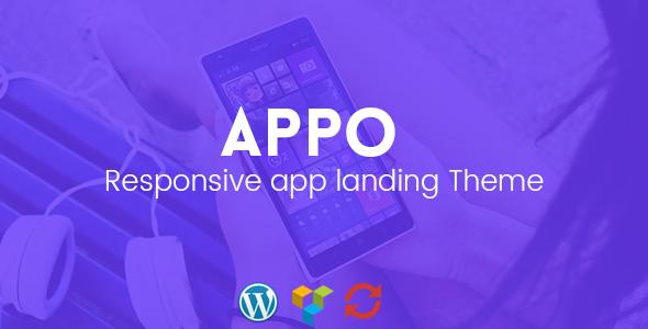 Appo - Responsive App Landing Theme            TFx