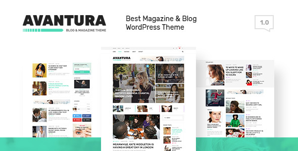 Avantura - Magazine & Blog WordPress Theme            TFx Arnie Keefe
