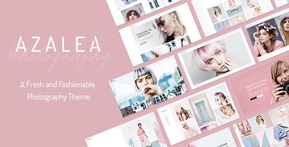 Azalea - A Fresh and Fashionable Photography Theme            TFx