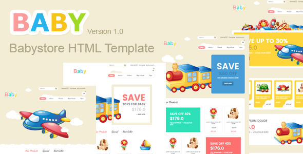 Baby Store HTML5 Template            TFx
