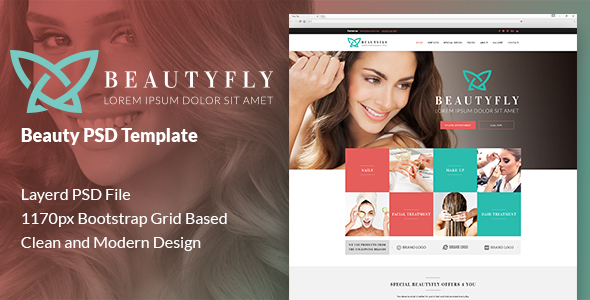 Beautyfly - Beauty PSD Template            TFx