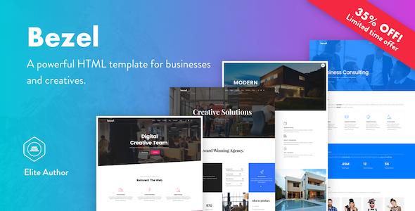 Bezel - Creative Multi-Purpose HTML Template            TFx