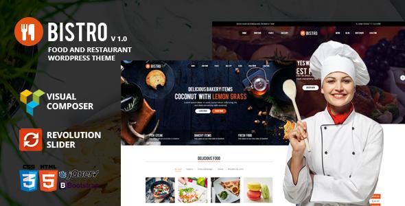 Bistro - Food & Restaurant WordPress            TFx