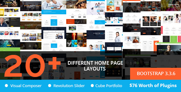 Brezz - Responsive Multi-Purpose WordPress Theme            TFx