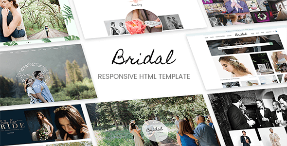 Bridal - Responsive HTML5 Template            TFx