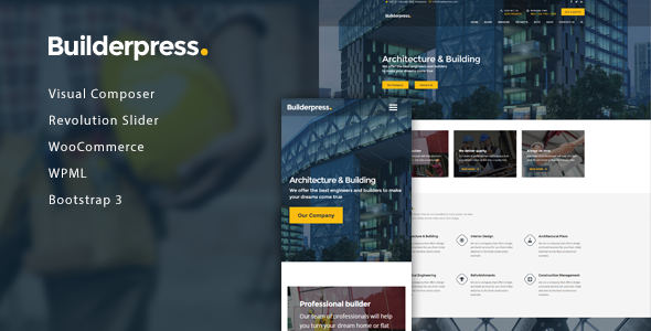 BuilderPress - Building Construction WordPress Theme            TFx