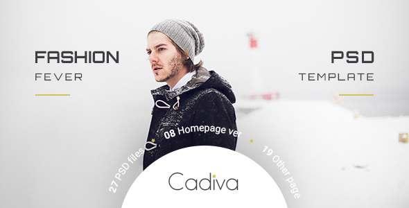 Cadiva Shop - Multi Concept PSD Templates            TFx