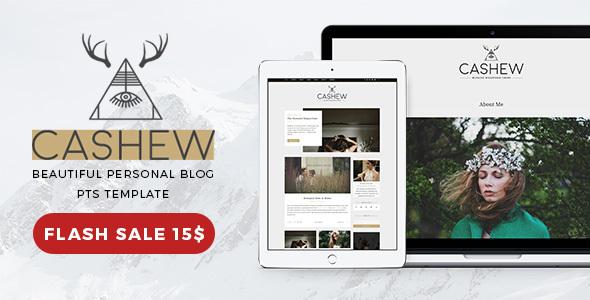 Cashew - A Personal Blog WordPress Theme            TFx Christian Dirk