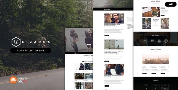 Cizarua - Responsive One Page Portfolio Theme            TFx German Laverne