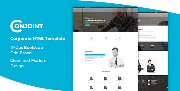 Conjoint – Corporate HTML Template            TFx Patrick Thomas