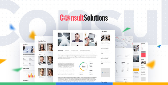 Consult Solution - Business, Finance & Corporate WordPress Theme            TFx