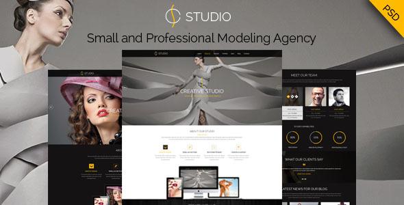 Creative Studio - PSD Template            TFx