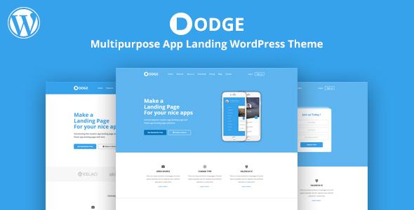 DODGE - WordPress App Landing Theme            TFx