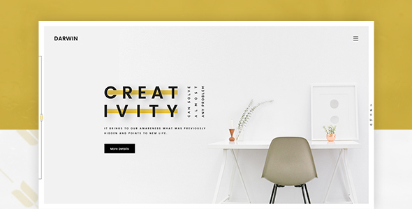 Darwin | Creative Portfolio PSD Template            TFx