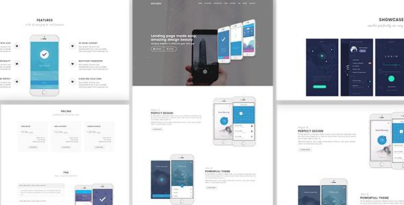Decades - App Showcase & App Store WordPress Theme            TFx Corey Ricky