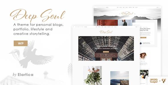 Deep Soul - Lifestyle WordPress Blog & Shop Theme            TFx