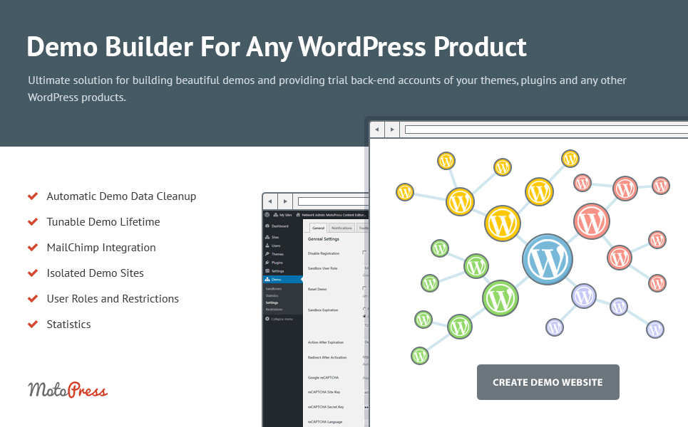 Demo Builder for any WordPress Product WordPress Plugin TMT Elmer Kynaston
