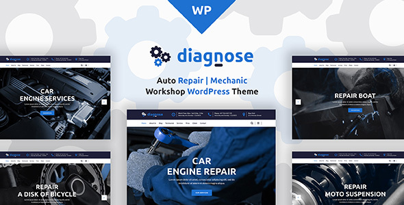 Diagnose - Auto Repair | Mechanic | Workshop WordPress Theme            TFx