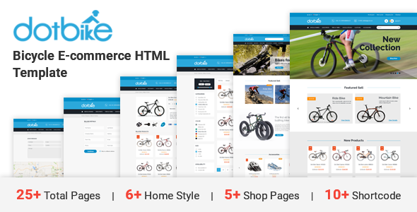 DotBike - Bicycle e-commerce HTML Template            TFx