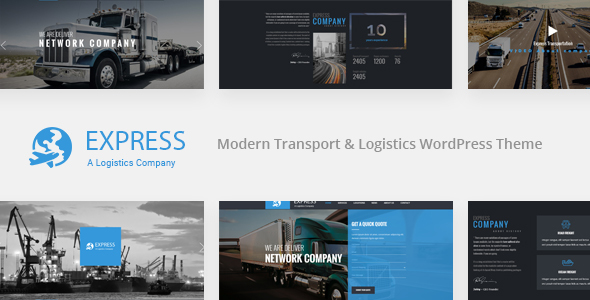 EXPRESS – Modern Transport & Logistics WordPress Theme            TFx