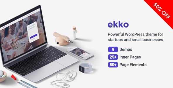 Ekko - Business MultiPurpose WordPress Theme            TFx