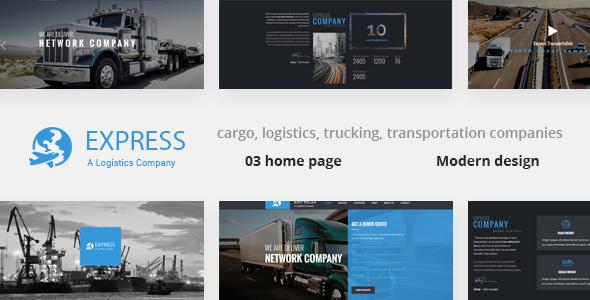 Express - Modern Transport & Logistics HTML Template            TFx