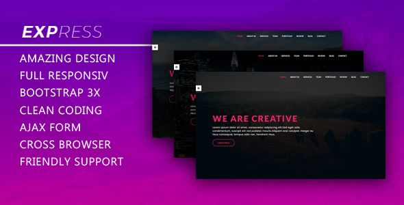 Express - Responsive Creative Template            TFx