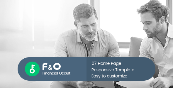 F&O - Consultant Finance HTML Templates            TFx