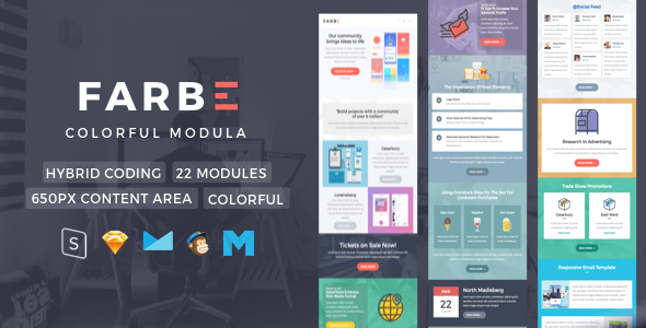 Farbe | Newsletter Template            TFx