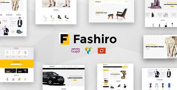 Fashiro - Multipurpose WooCommerce Theme            TFx