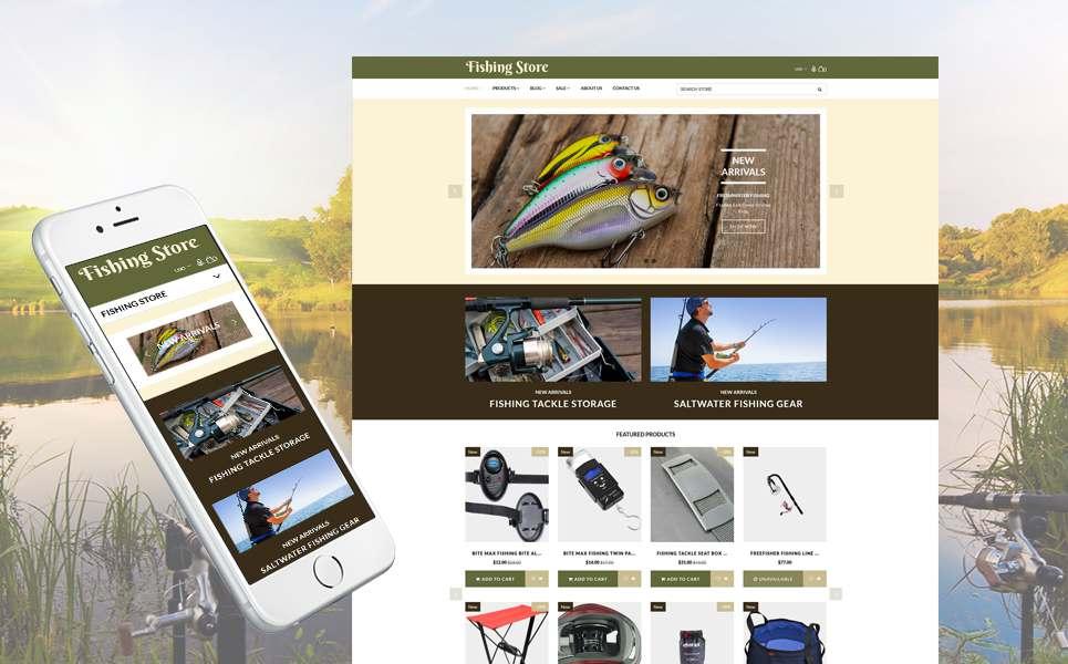Fishing Store - Fishing Supplies & Equipment Shopify Theme TMT Jerrard Dean