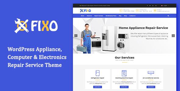 Fixo - Electronics Repair Service WordPress Theme            TFx