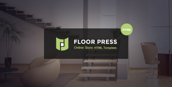 FloorPress - A Responsive Sales and Services HTML Template for Flooring or Other Businesses            TFx