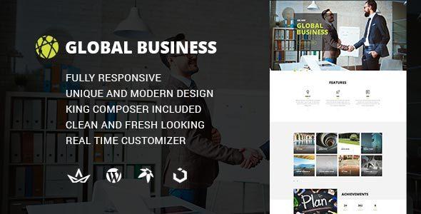 GB - Multipurpose Global Business, Corporate, Portfolio WordPress Theme            TFx