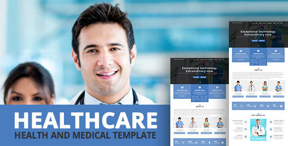 HEALTHCARE - Health and Medical Template            TFx
