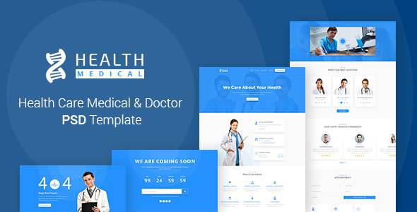 Health Care | Medical & Doctor PSD Template            TFx